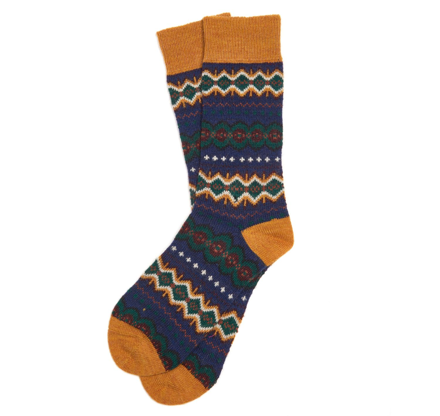 Barbour Caistown Socks Navy