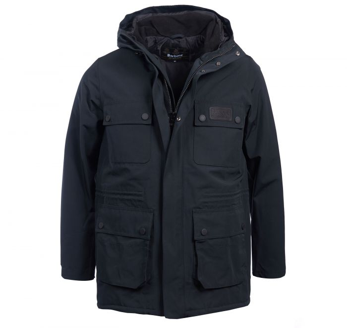 Barbour B.Intl Endo Waterproof Breathable Jacket Black