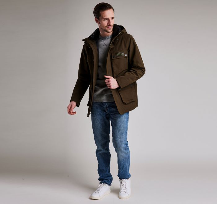 Barbour Endo Jacket Olive