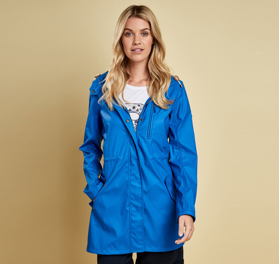 Barbour Harbour Jacket Blue