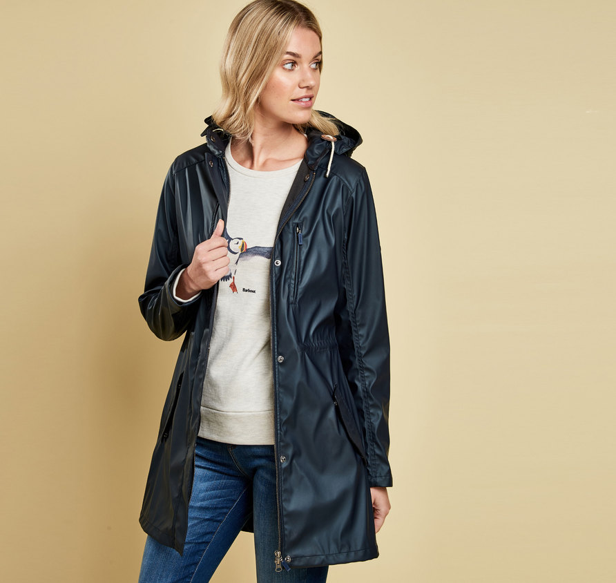 Barbour Harbour Jacket Navy