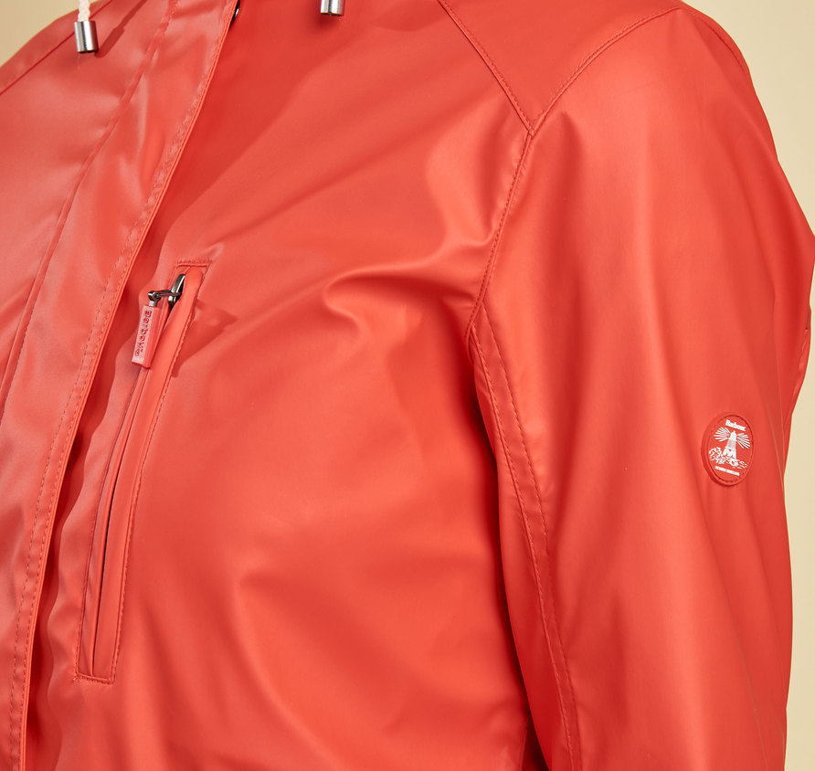 Barbour Harbour Jacket Orange