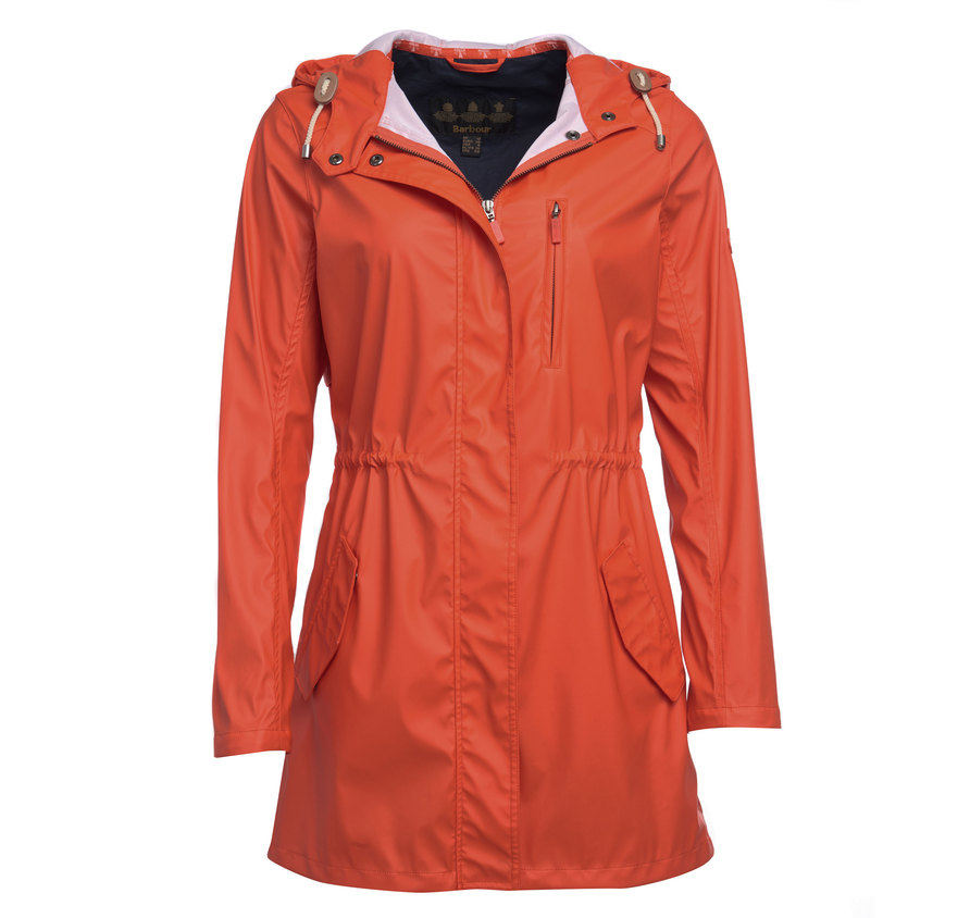 Barbour Barbour Harbour Jacket Orange Regular Fit
