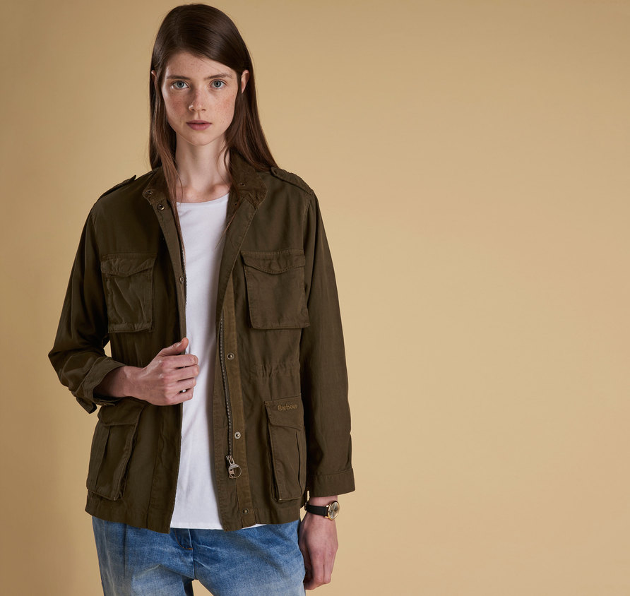 Barbour Chorlton Jacket Olive Regular Fit