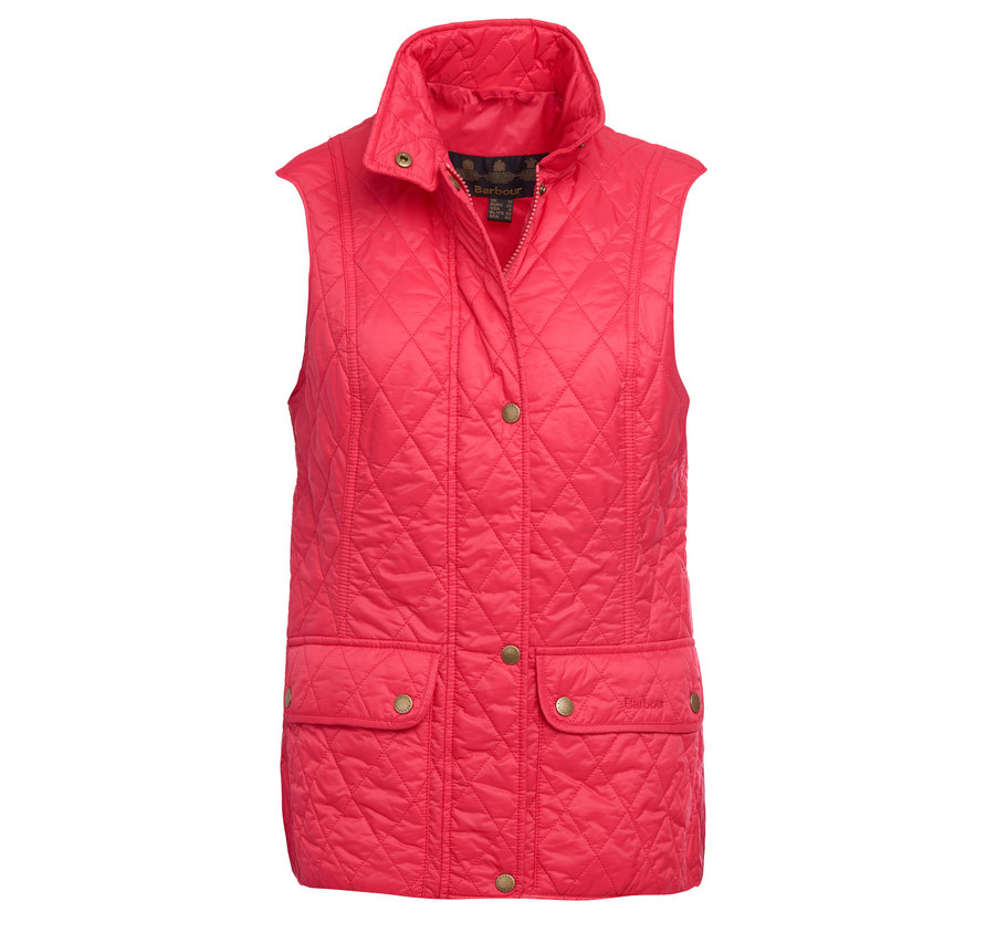 Barbour Otterburn Gilet Raspberry