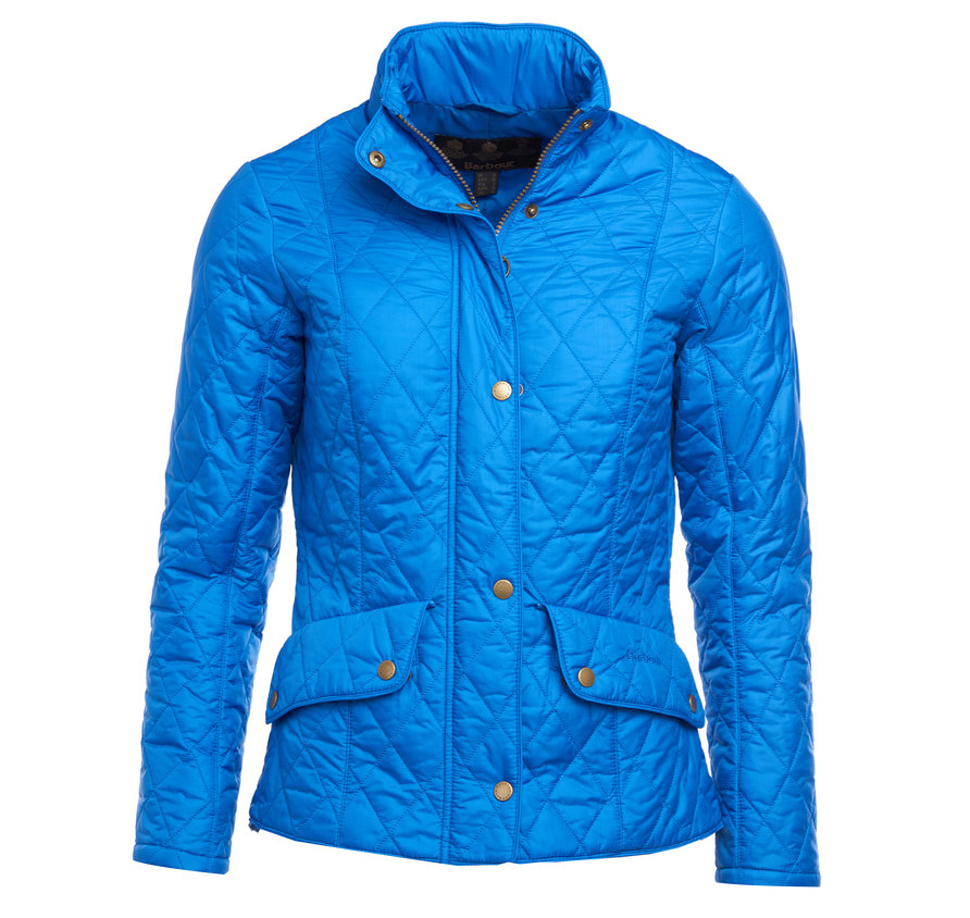 Barbour Barbour Flyweight Cavalry Quilted Jacket Victoria Blue Slim Fit