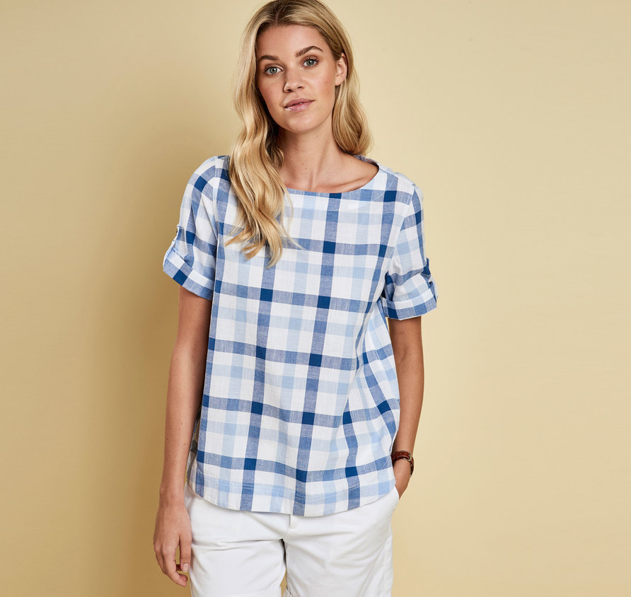 Barbour Malin Relaxed Fit Shir