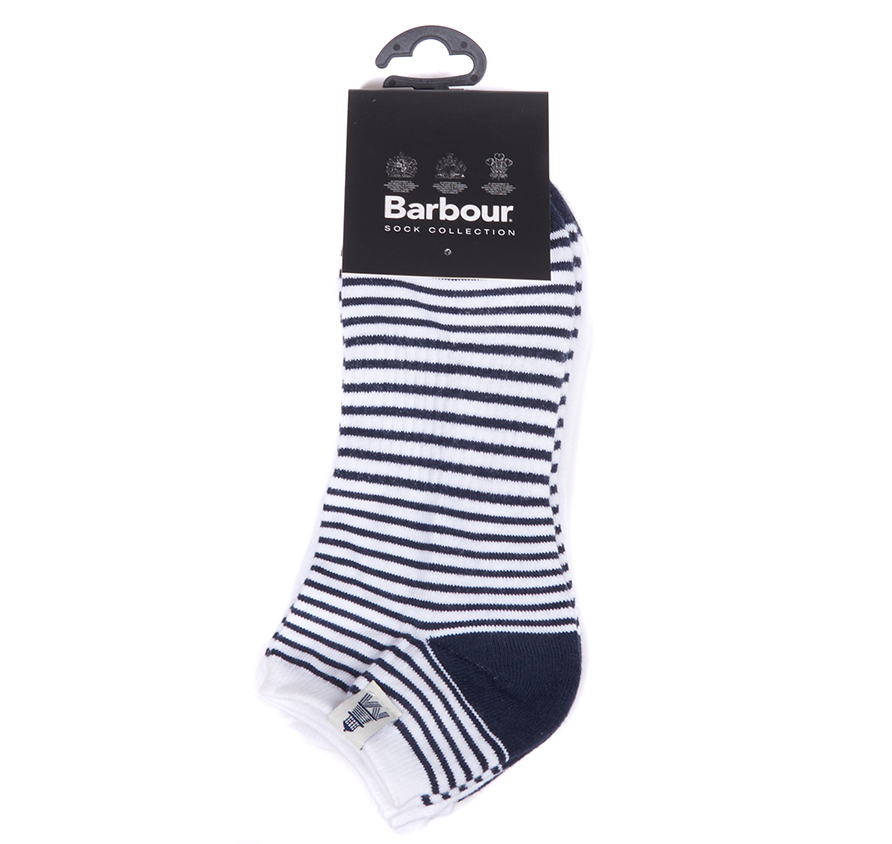 Barbour Scarp Socks Navy