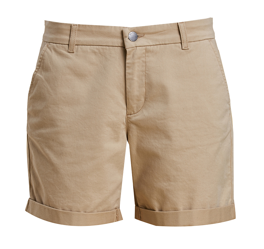 Barbour Essential Shorts Stone Regular Fit