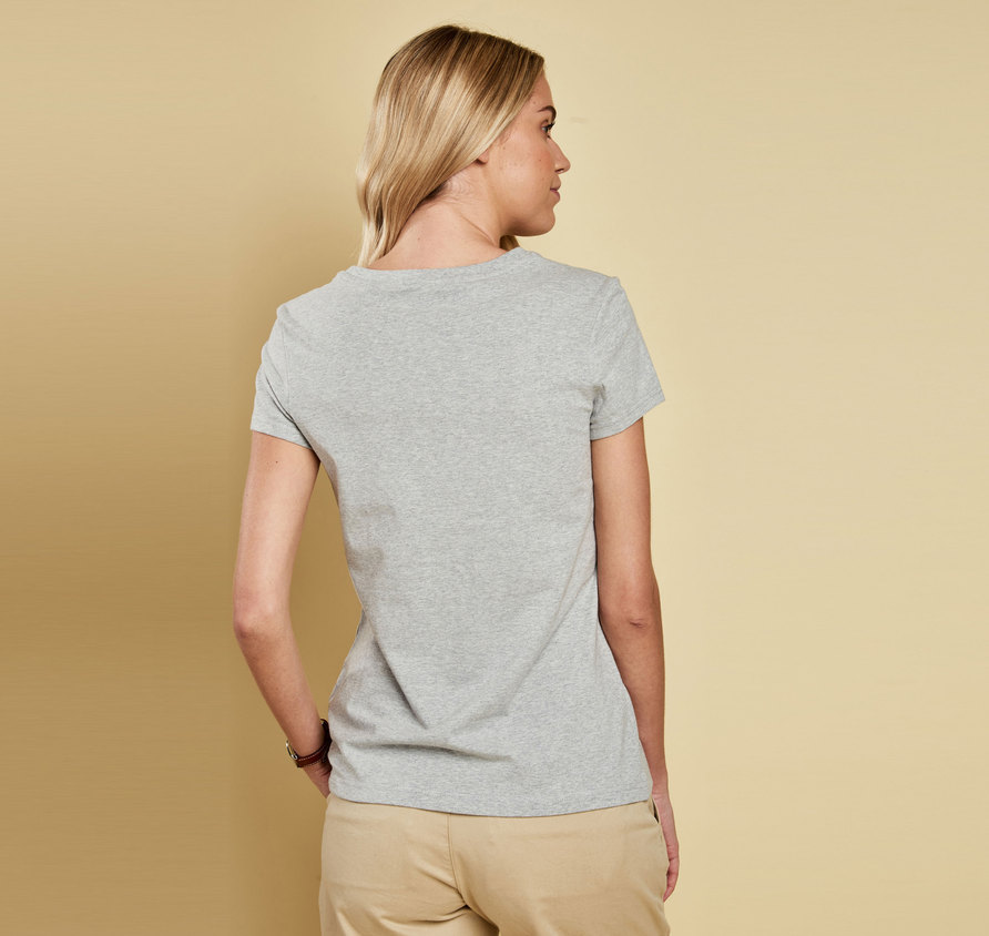 Barbour Whitmore T-Shirt Grey Marl