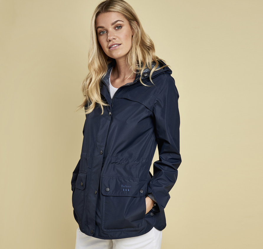 Barbour Barometer Waterproof Breathable Jacket Navy