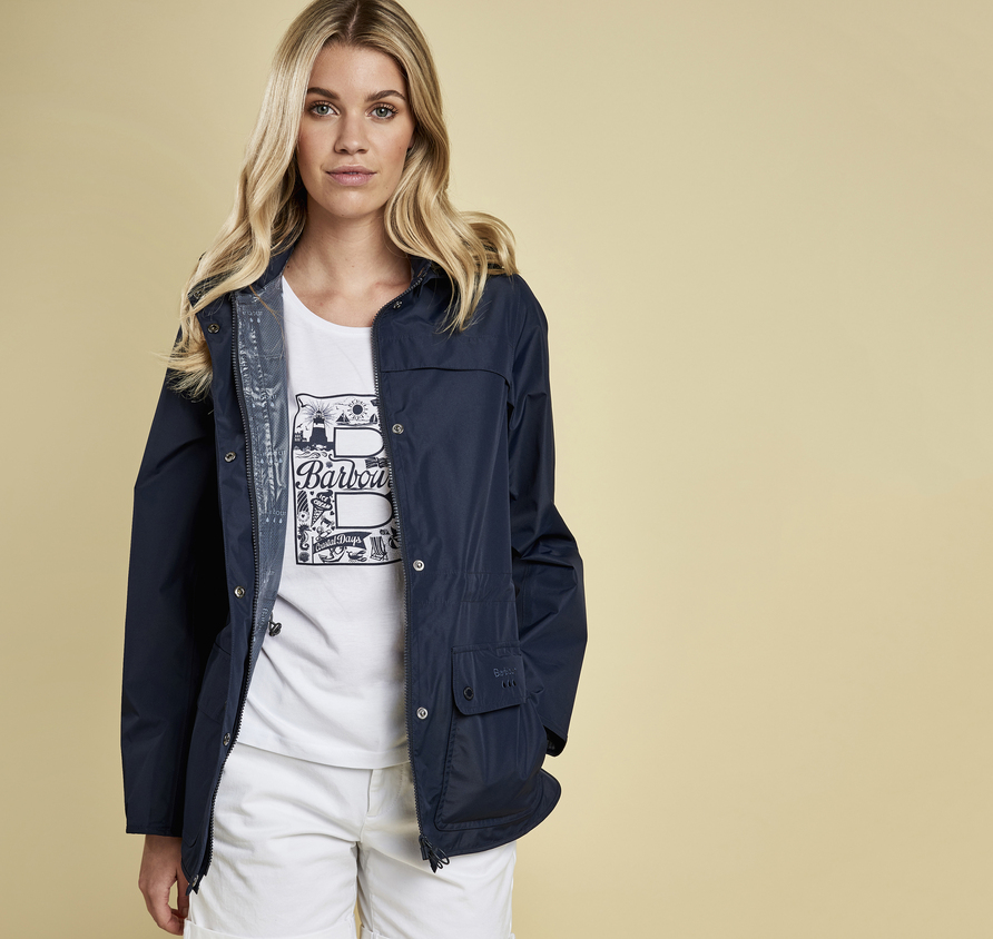 Barbour Barbour Barometer Waterproof Breathable Jacket Navy