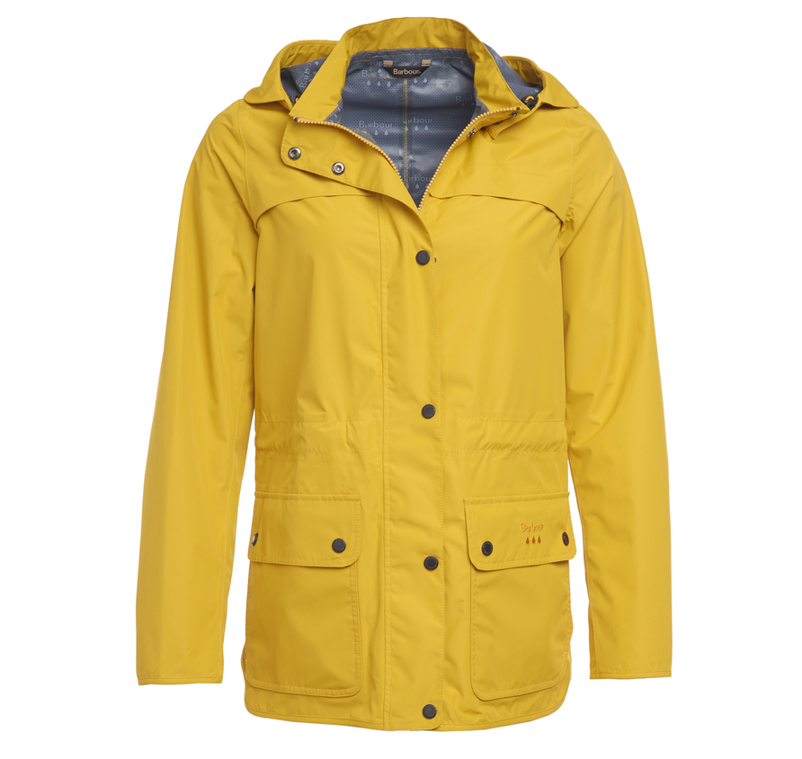 Barbour Barometer Waterproof Breathable Jacket yellow