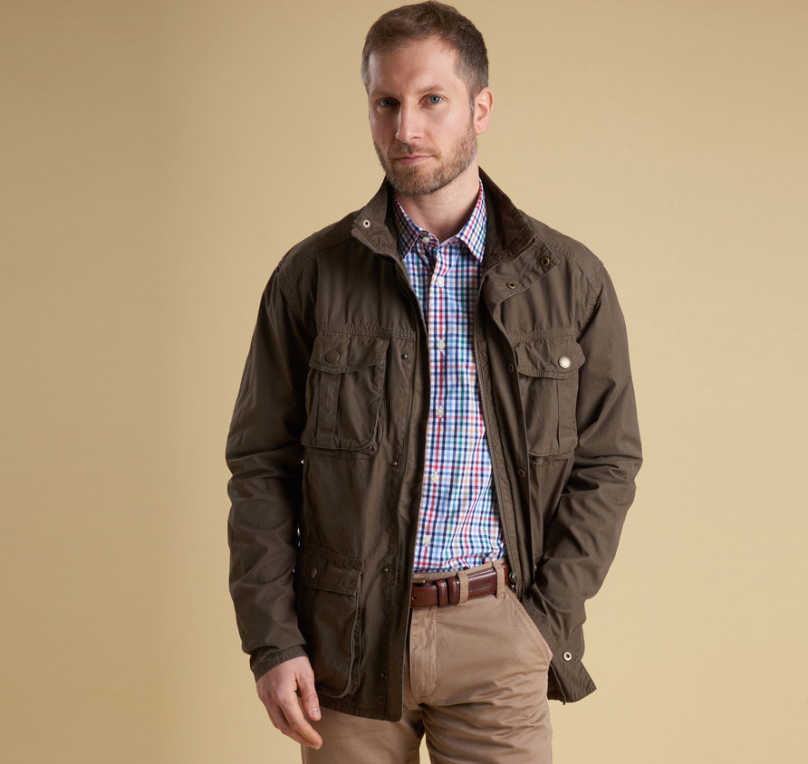 Barbour Gateford Jacket Olive