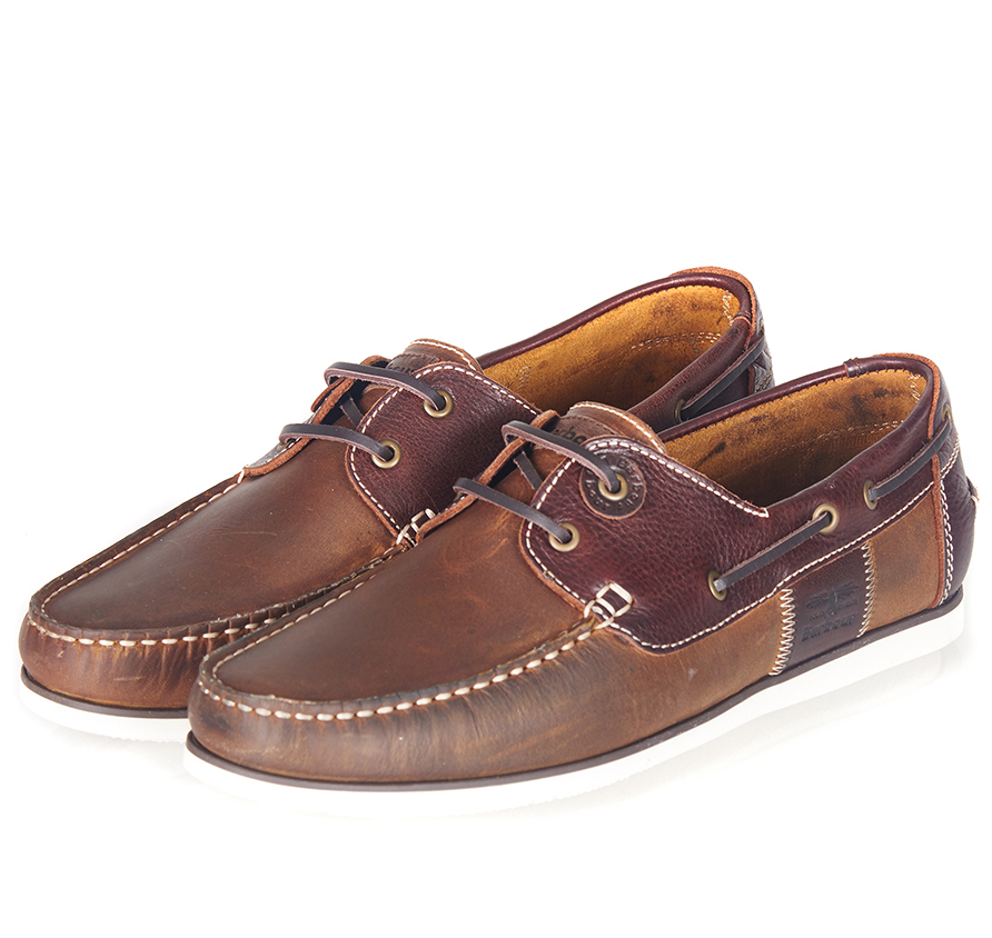 Barbour Capstan Shoes Beige Barbour Lifestyle: From the Classic collection