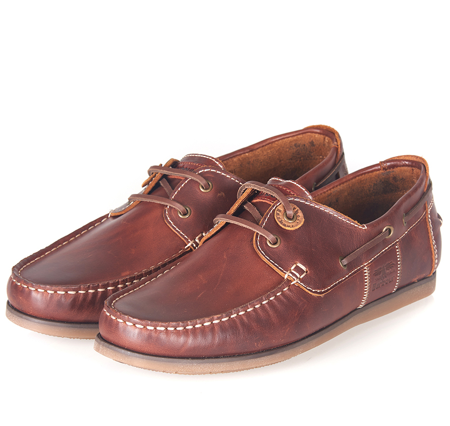 Barbour Capstan Shoes Brown Barbour Lifestyle: From the Classic collection
