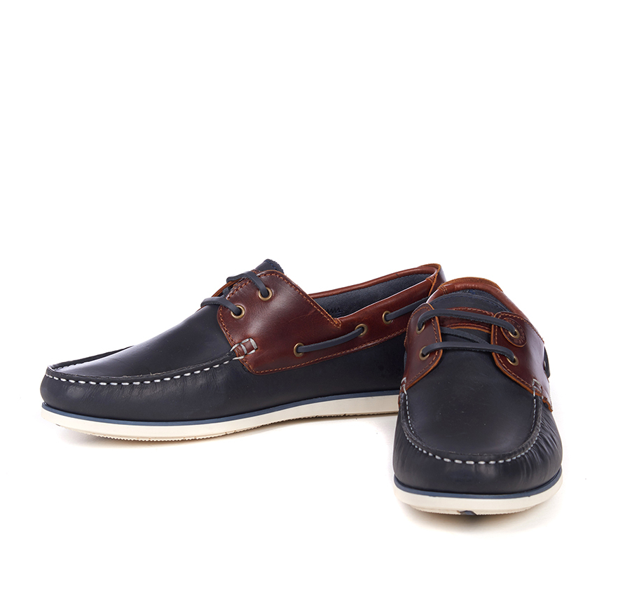 Barbour Capstan Shoes Navy Barbour Lifestyle: From the Classic collection