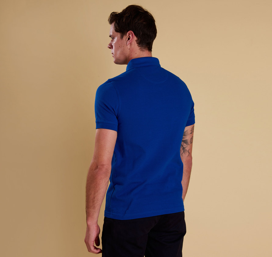 Barbour Joshua Polo Electric Blue
