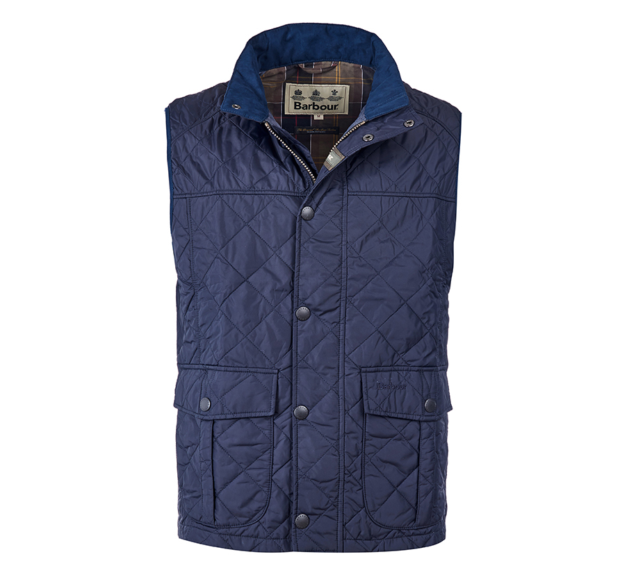 Barbour Barbour Explorer Gilet Navy Barbour Sporting: From the Barbour Country collection