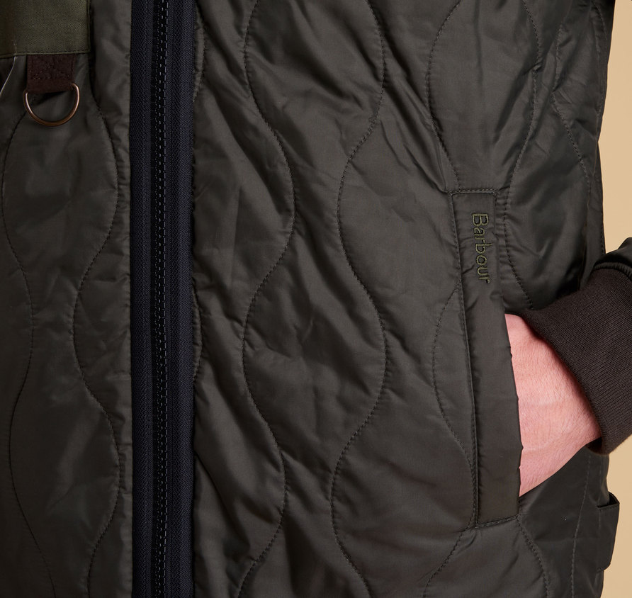Barbour Cast Quilted Jacket Olive