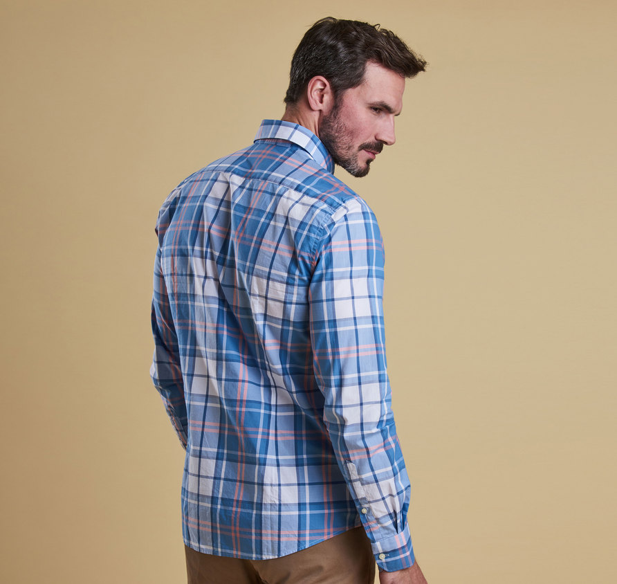Barbour Jeff Tailored Shirt Blue