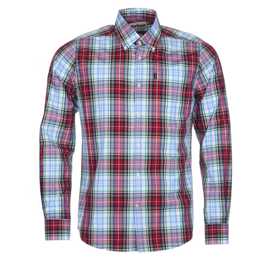 Barbour Jeff Tailored Shirt Red