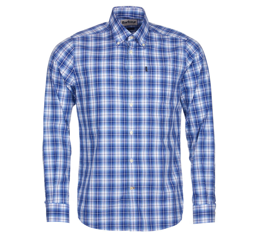 Barbour Barbour Leo Tailored Shirt Blue