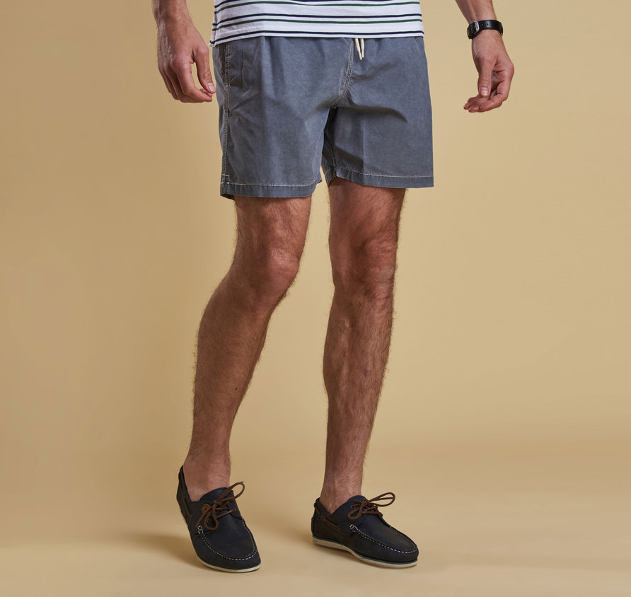 Barbour Victor Swim Short Grey Tailored Fit