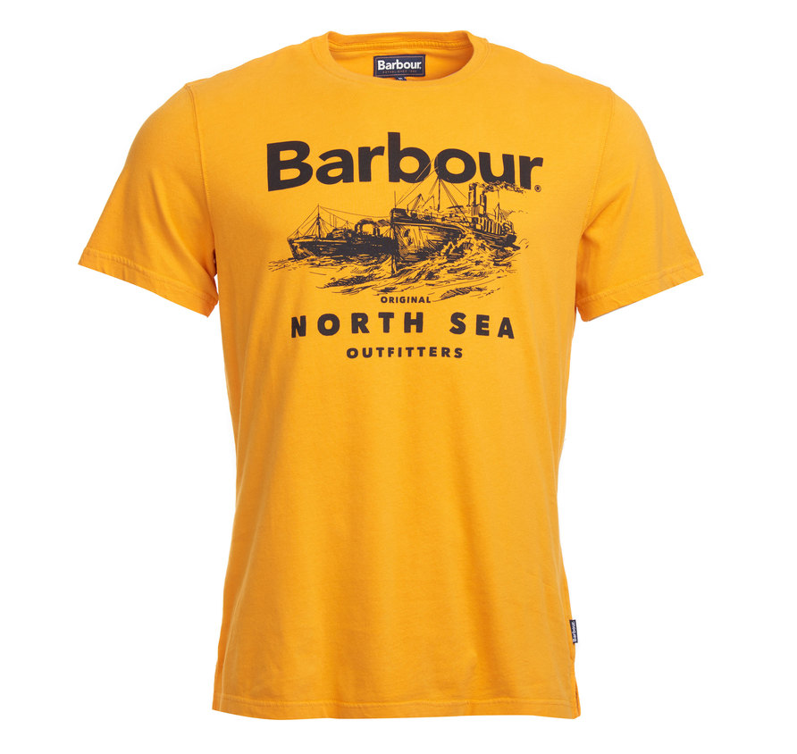 Barbour Rudd T-Shirt Orange