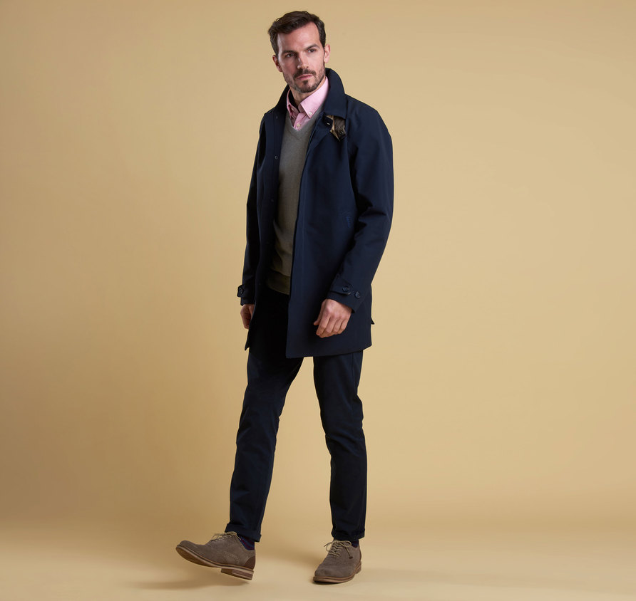 Barbour Colt Waterproof Breathable Jacket Navy