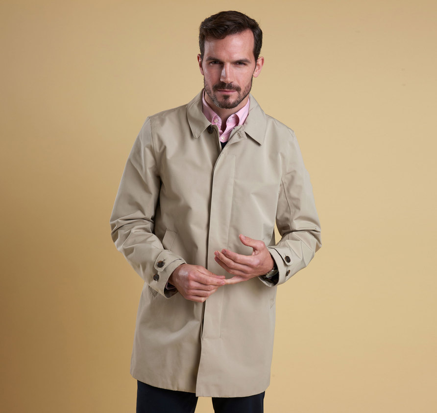 Barbour Colt Waterproof Breathable Jacket Stone