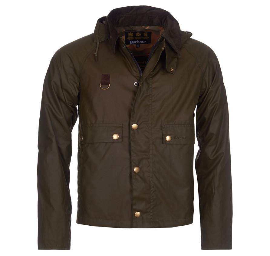 Barbour Barbour Speyside Wax Jacket Olive