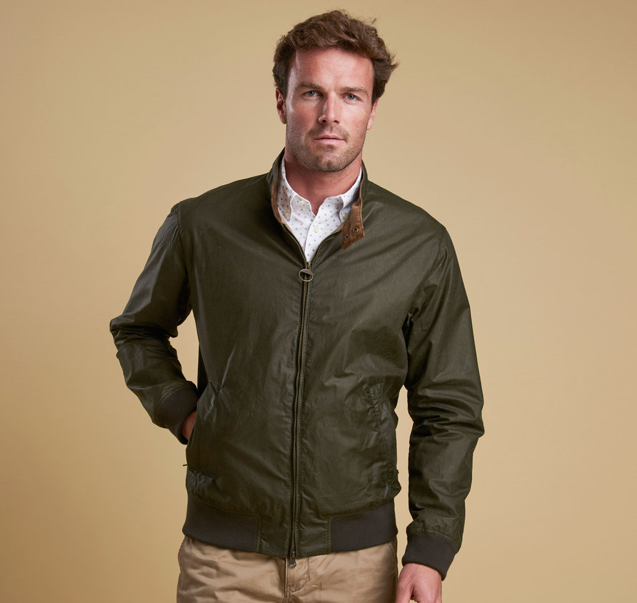 Barbour Lightweight Royston Wax Jacket Olive