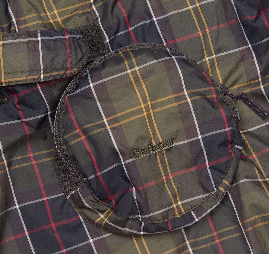 Barbour Pack Away Dog Coat Classic