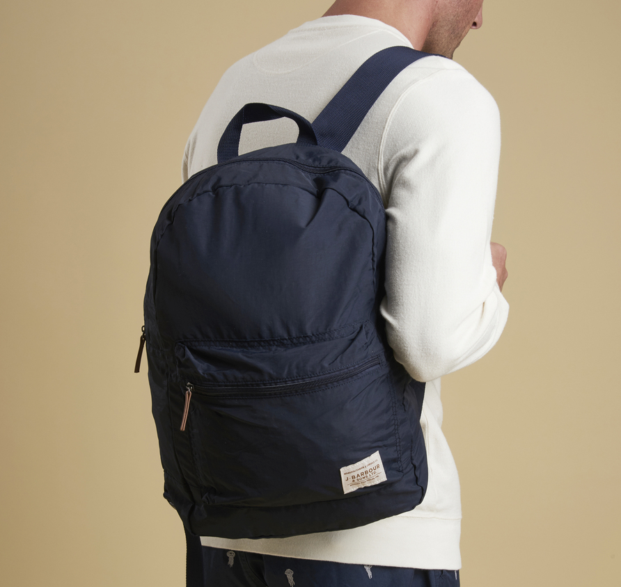 Barbour Beauly Backpack Navy