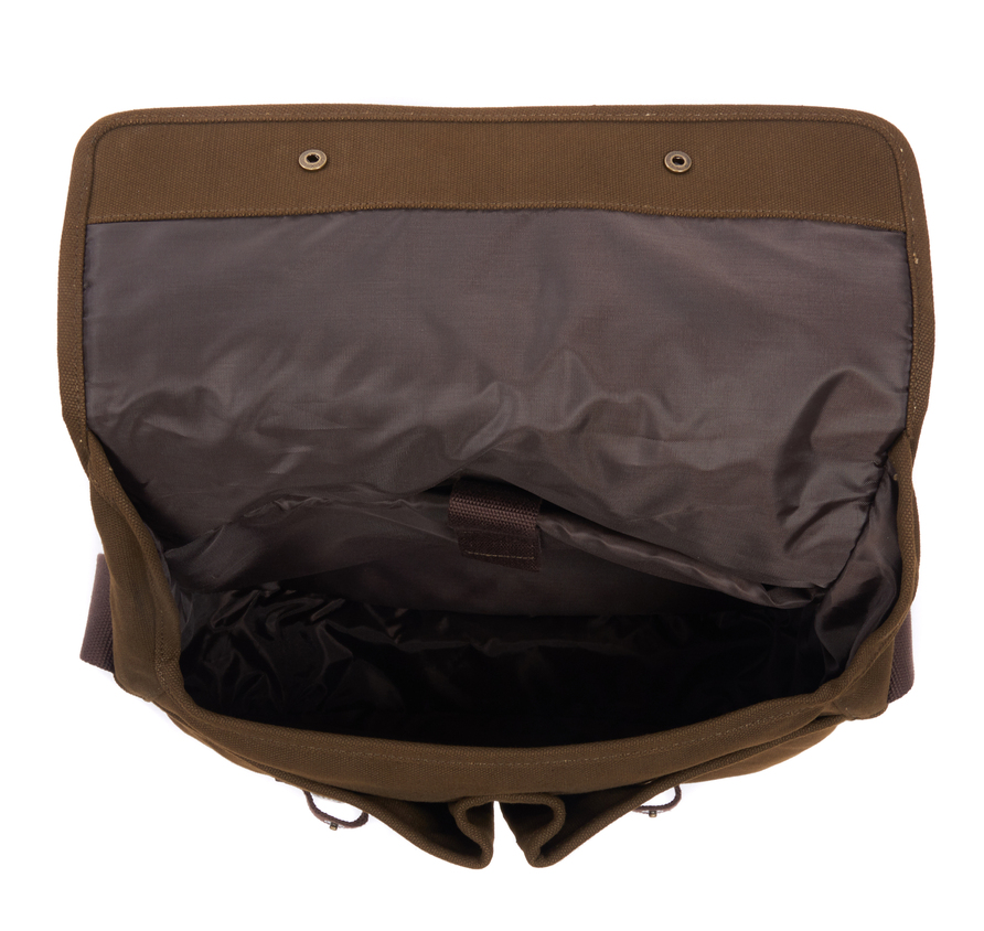Barbour Cotton Canvas Tarras Bag Olive