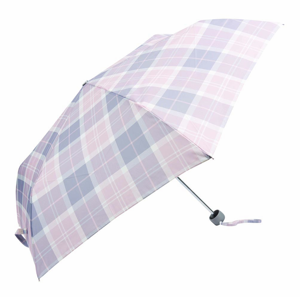 Barbour Portree Umbrella Pink Barbour Lifestyle