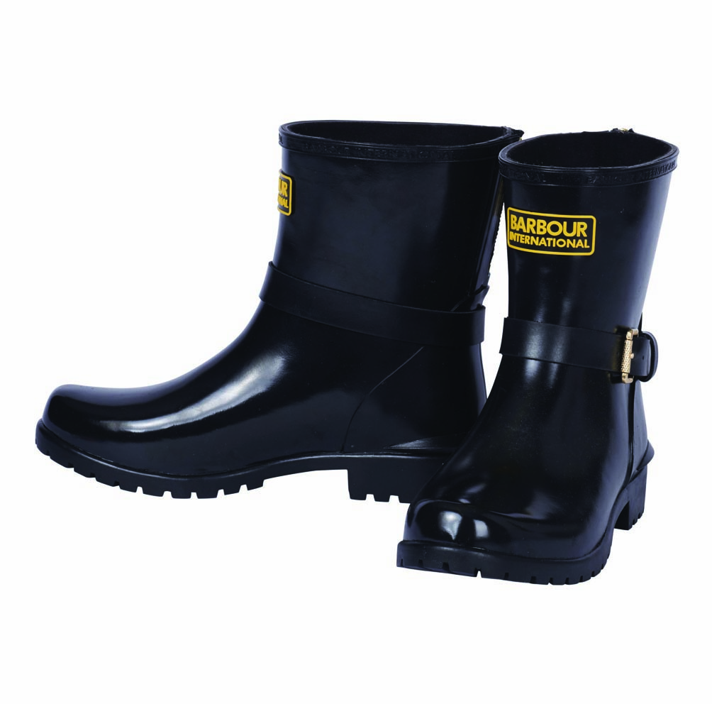 Barbour Mugello Boots Black