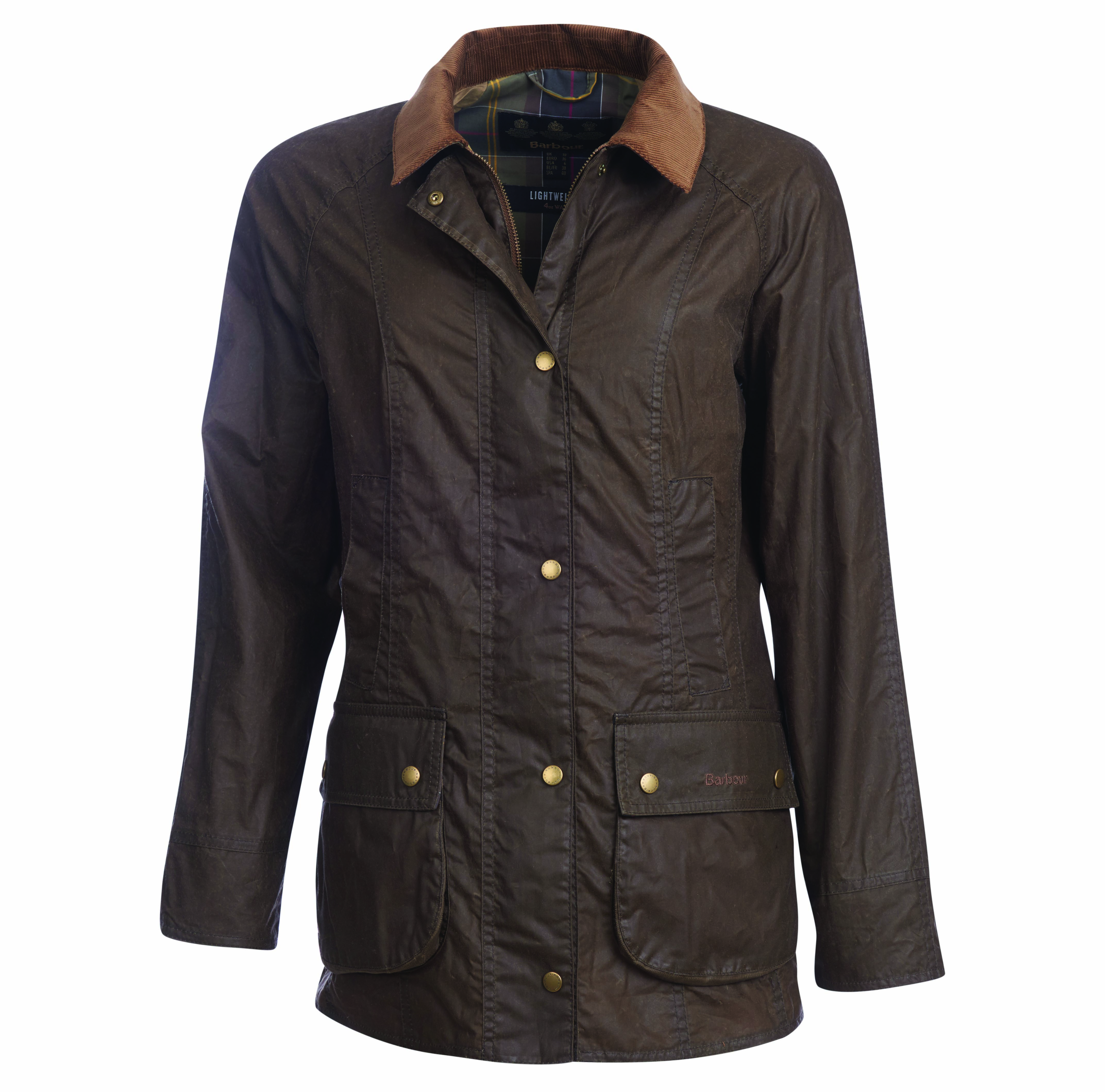 Barbour Barbour Lightweight Beadnell Wax Jacket Olive Regular Fit