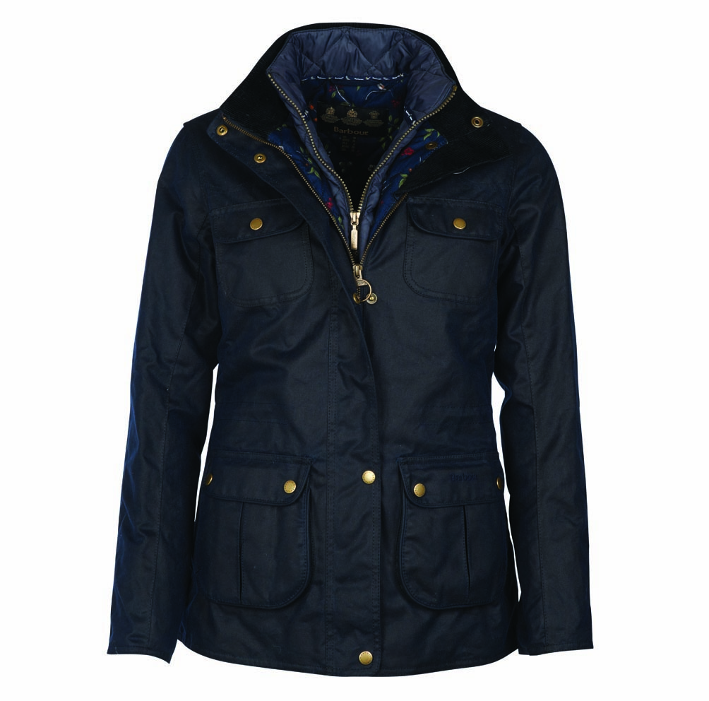 Barbour Chaffinch Waxed Cotton Jacket Olive Barbour International