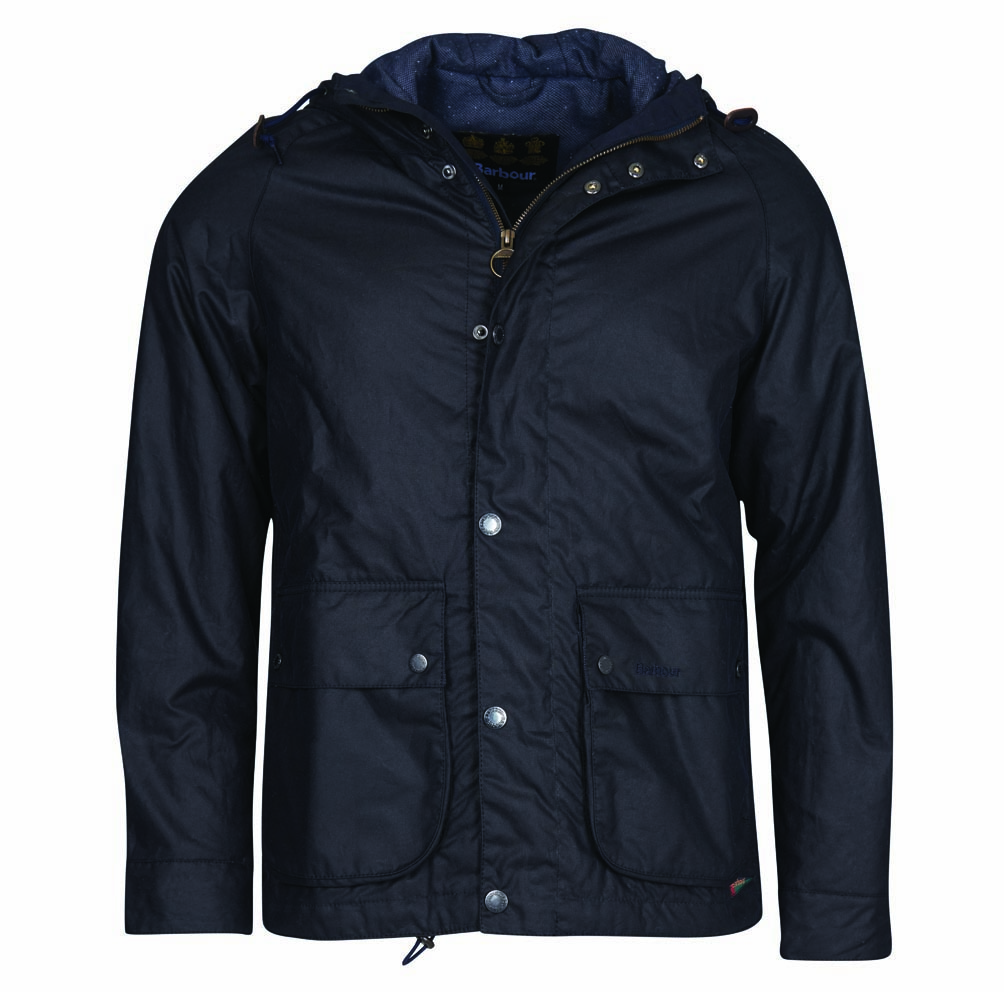 Barbour Nautic Waxed Cotton Jacket Sage Barbour International