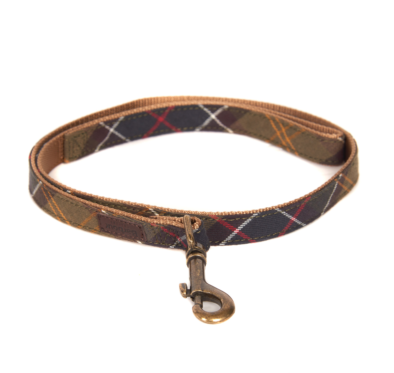 Barbour Tartan/Webbing Dog Lead Classic