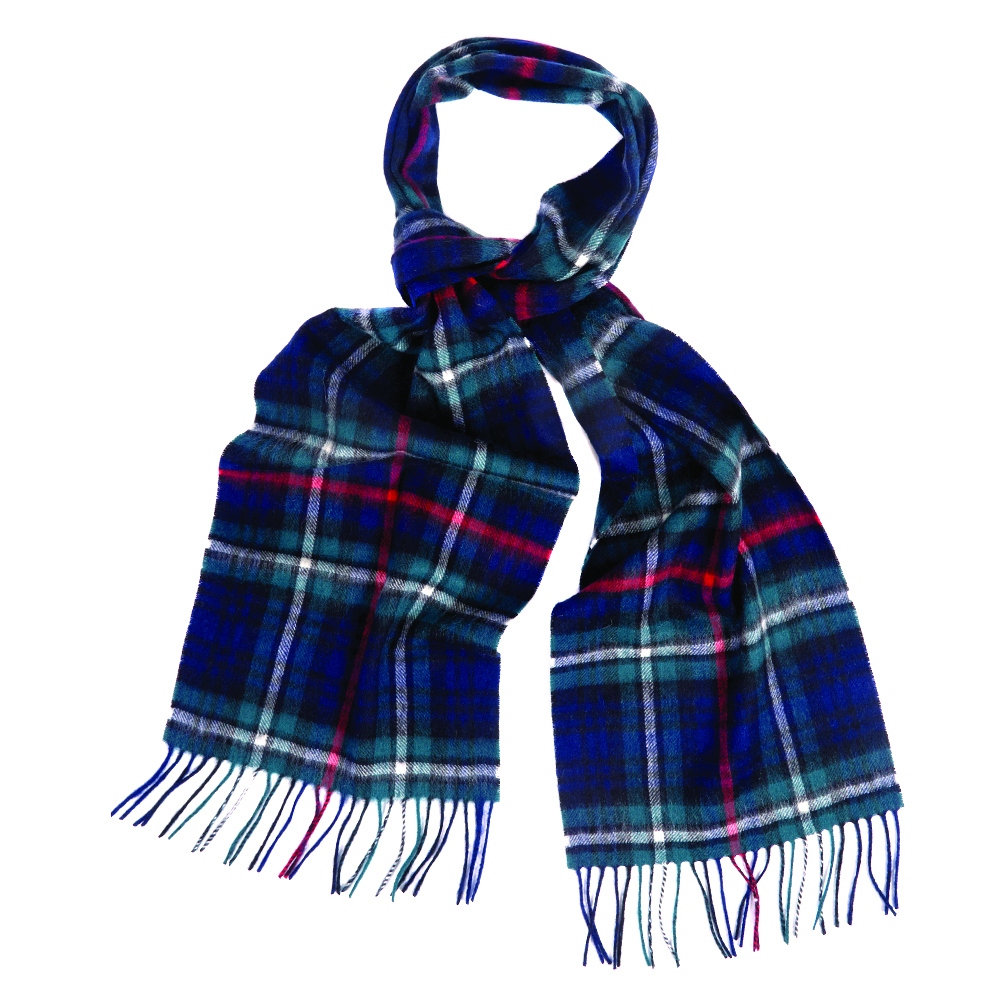 Barbour Barbour New Check Tartan Scarf Mackenzie