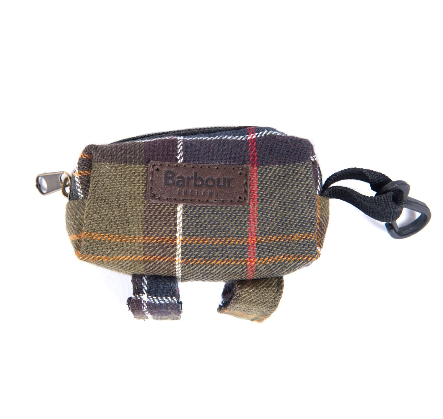 Barbour Tartan Poop Bag dispenser Dogs Accesories