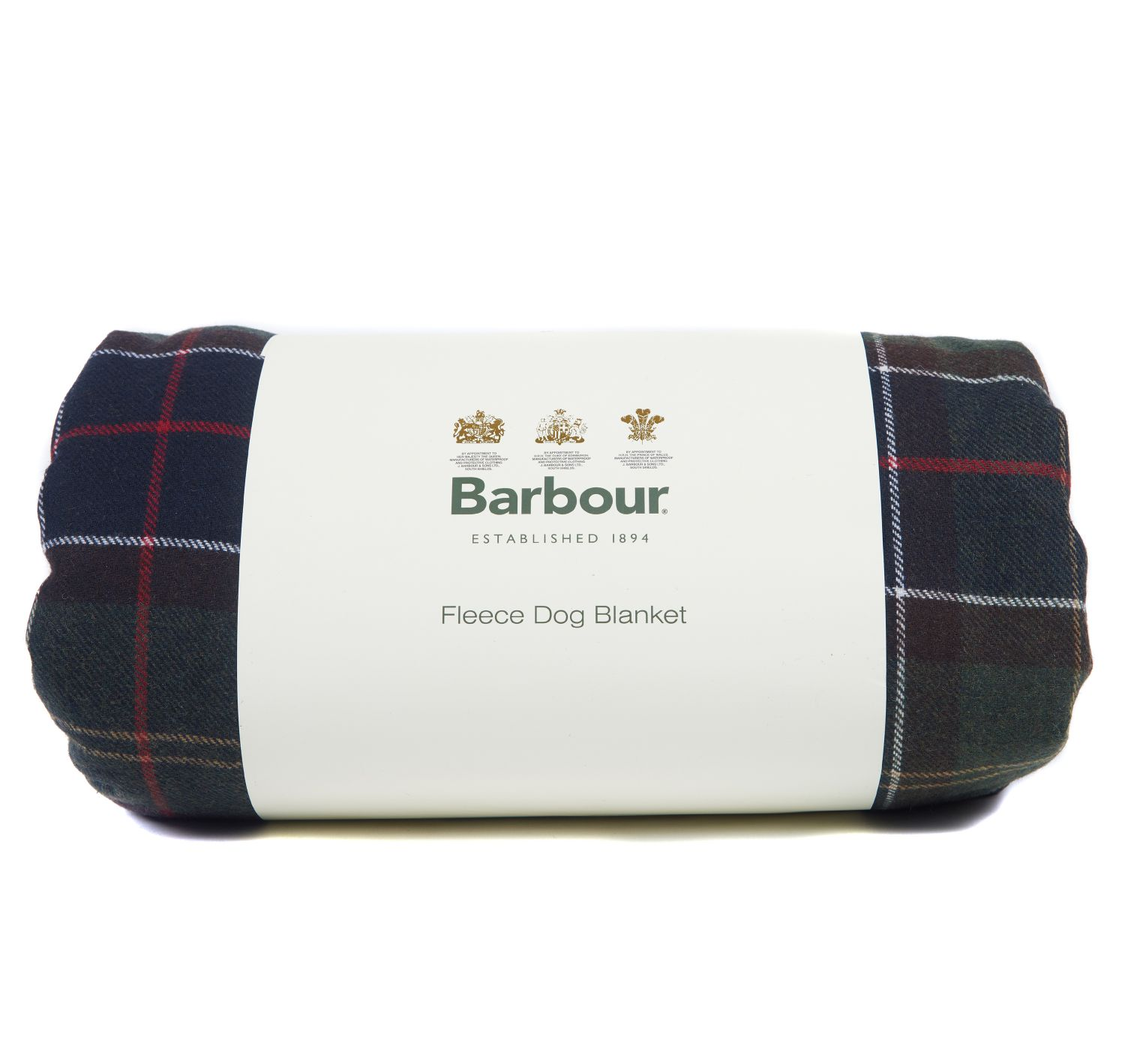 Barbour Large Tartan Wool touch Blancket Dogs Accesories