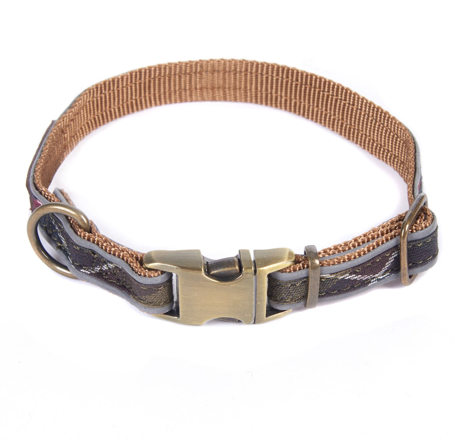 Barbour Reflective Tartan Dog Collar Dogs Accesories