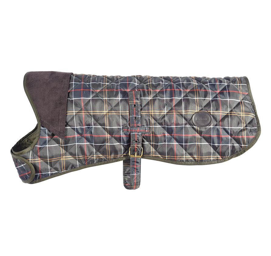 Barbour Tartan Dog Coat Dogs Accesories