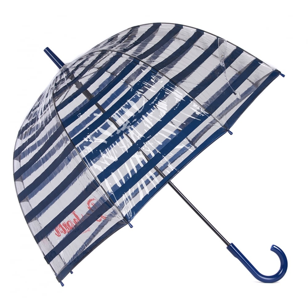 Barbour Barbour Stripe Bubble Umbrella Navy
