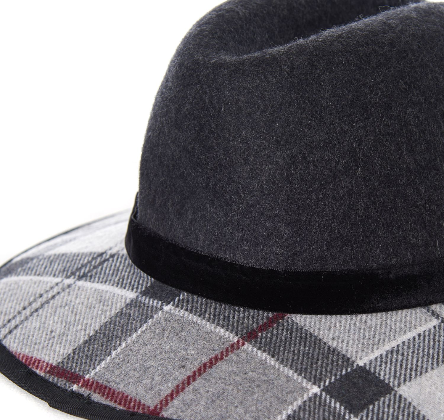 Barbour Thornhill Fedora Charcoal