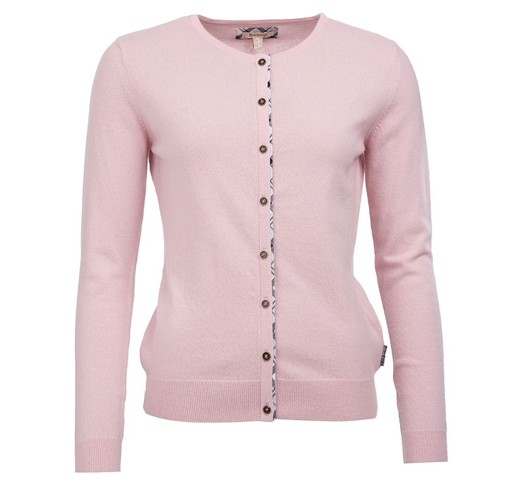 Barbour Pendle Cardigan Rose Barbour Lifestyle: from the Classic capsule